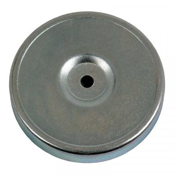 Magnethalter 80 mm Durchmesser Rundumleuchete LED