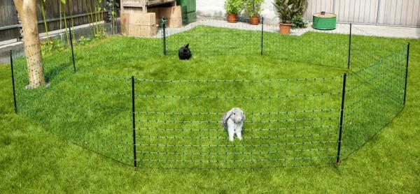 Kaninchennetz 50m, 65cm Einzelspitze, grün