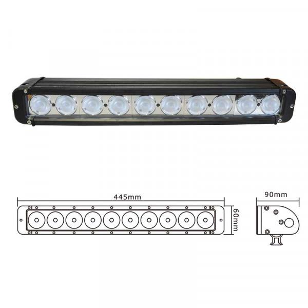 LED Lichtbalken 12/24V 10000LM