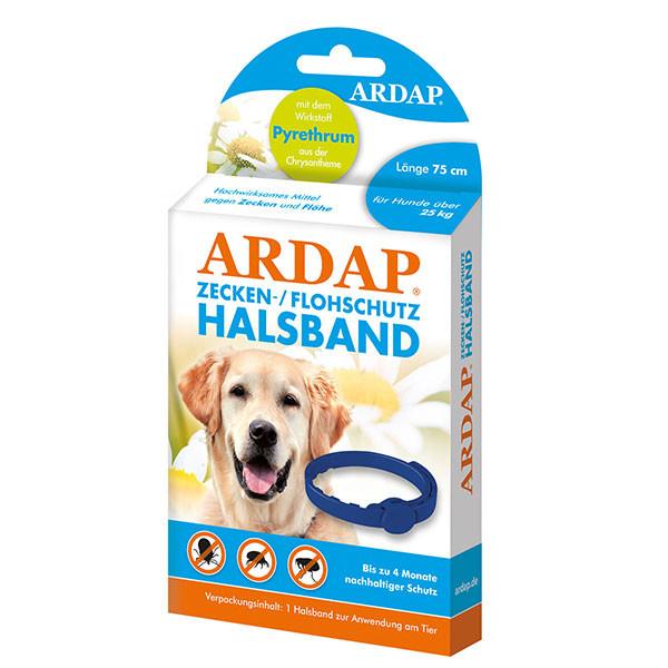 Zecken- und Flohhalsband für große Hunde von über 25 kg