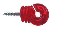 Ring-Isolatoren Jumbo rot transparent
