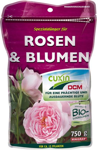Spezialdünger für Rosen und Blumen 750g fü ca. 15 Pflanzen