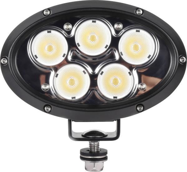 LED Arbeitsscheinwerfer Oval für Land- und Baumaschinen 5.000 Lumen 10-60 Volt