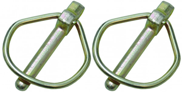 Sicherheitsklappsplint, Klappsplint,Stift Ø7.5mm x 44mm (2 Stk. Agripak)