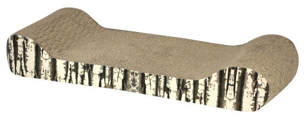 Katzenkratzbrett Drift aus Pappe 48,5 x 18,5 x 7,5 cm