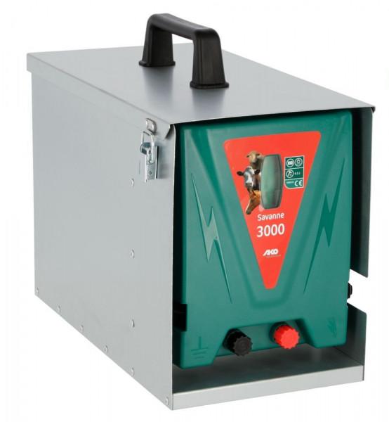 AKO Weidezaungerät Savanne 3000 12V inkl. Metallbox