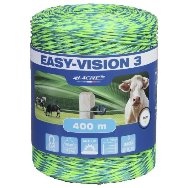 Lacme EASY-VISION 3 Litze 400 m Weidezaunlitze