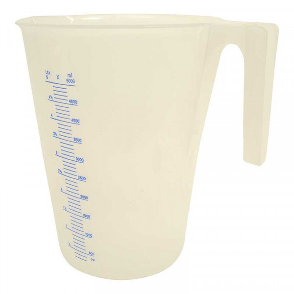 Meßbecher Transparent - 5L