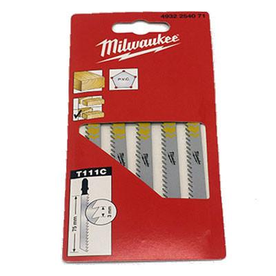 Stichsägeblatt Holz u. Kunststoff 75x3mm Milwaukee®