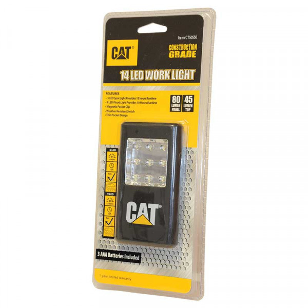CAT 14 LED Taschenlampe Arbeitsleuchte