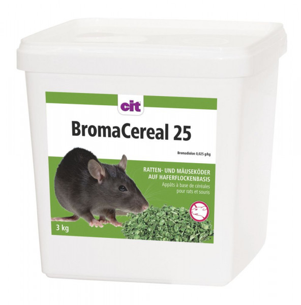 Rattengift / Mäusegift cit BromaCereal 25