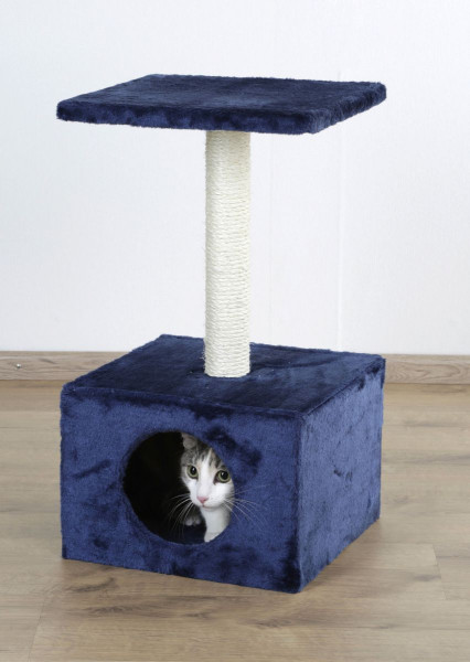 Kratzbaum AMETHYST dunkelblau, Höhe: 57 cm