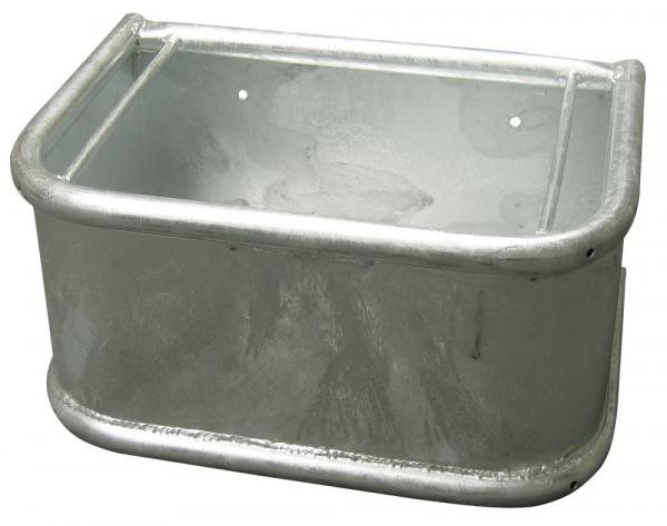 Rechtecktrog verzinkt 35 Liter
