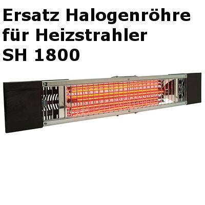 Halogen Infrarot Heizstrahler Halogenröhre 1800W