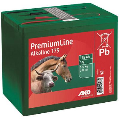 Weidezaunbatterie 170AH alk. incl. Ents.