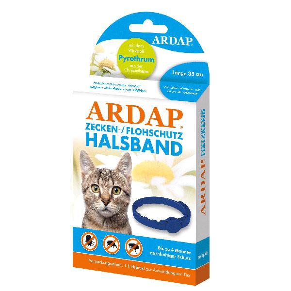 Zecken- und Flohhalsband für Katzen