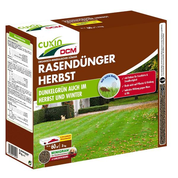 Rasendünger Herbst 3kg ca. 60 m²