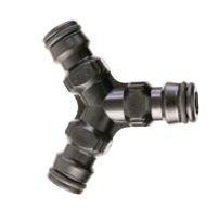 Y-Stück (3-Wege Verbinder) aus Kunststoff