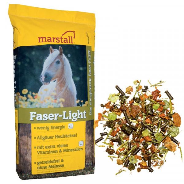 marstall Faser Light 15kg Pferdefutter Pferdemüsli