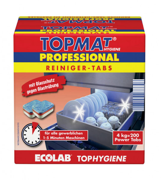 TopMat Profi-Spülmaschinentabs 4kg