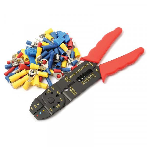 Kabelverbinder-Sortiment mit Zange