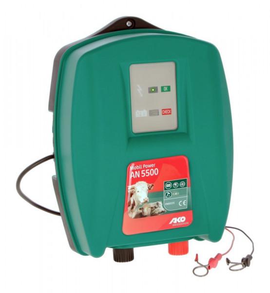 Mobil Power AN 5500 Weidezaungerät Netz und Batterie von AKO