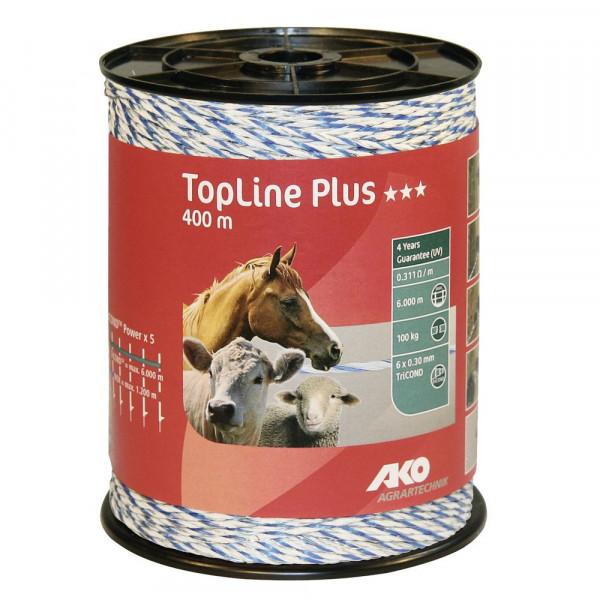 TopLine Plus weiß/blau 400m Weidehaltung,weidezaun
