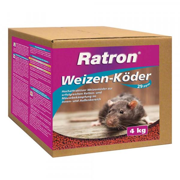 Ratron® Weizen-Köder 4kg 80x50g freiverkäuflich
