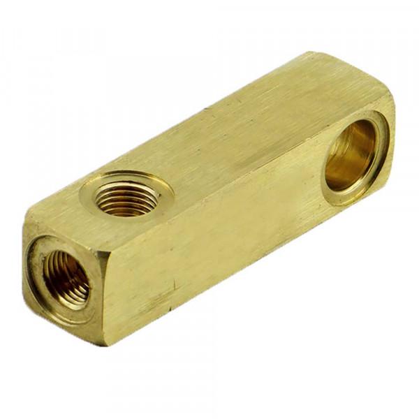 Verteilerblock Unloader 84mm lang Ehrle Hochdruckreiniger