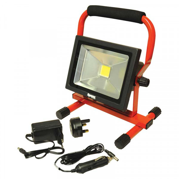 LED Flutlicht mit Akku 20W