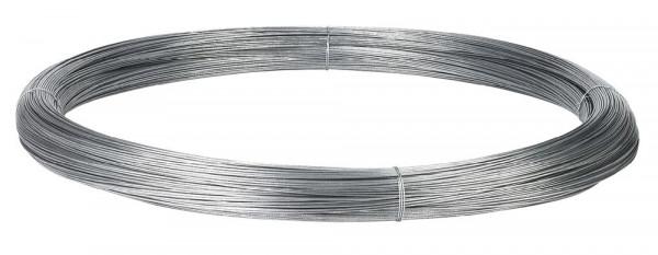 Weidezauhndraht Stahldraht 2,0mm, 1000m